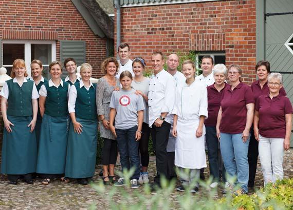 Das Team von Viebrocks Gasthaus